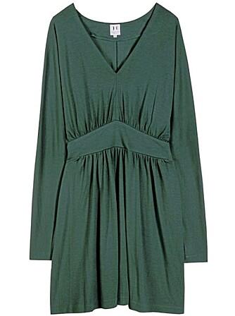 KJOLE: Halston Heritage Deep V Cocktail Dress.