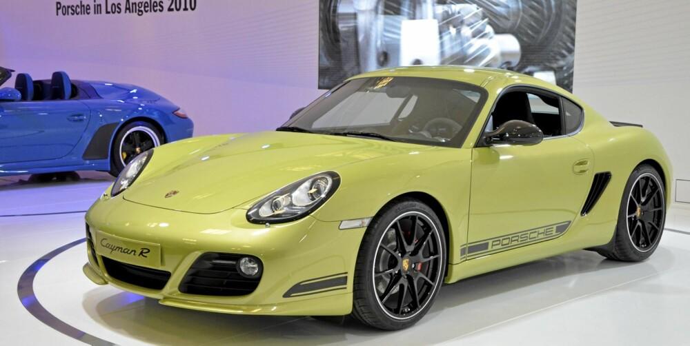 ENDA RÅERE: Hvis du syntes Cayman S blir for treg, er den nye R-modellen noe for deg.