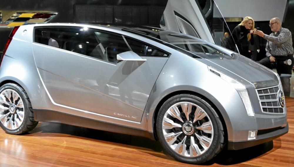 BYBIL: Cadillac prøver seg på bybilkonspetet. Om det noen gang blir virkelighet gjenstår å se.