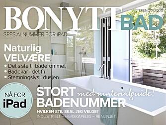 APP-SUKSESS: Bonytt var ute med Bonytt bad for iPad allerede i begynnelsen av nopvember.