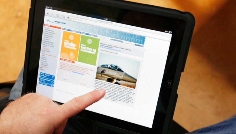 ETTERLENGTET: Apples iPad er å finne i butikkhyllene tirsdag.