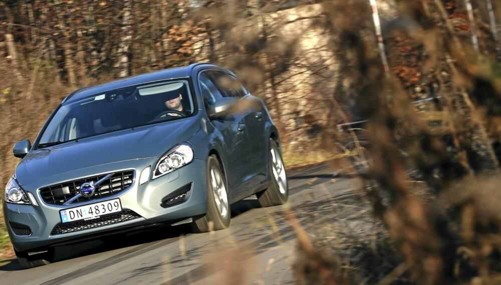 ÅRETS BIL: Volvo V60/S60 er Årets Bil i Norge 2011, med elbilen Mitsubishi i-MiEV og plassmesteren Skoda Superb hakk i hæl.