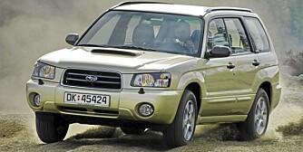 SUBARU FORESTER: Lettkjørt og kompakt bruksbil som tar seg frem.