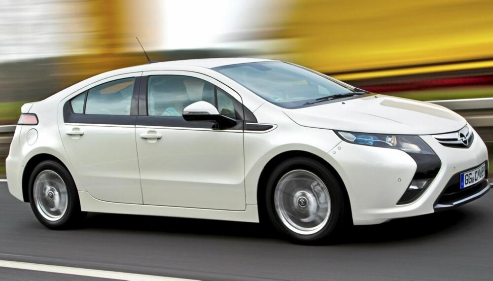 FRELSER?: Opel Ampera