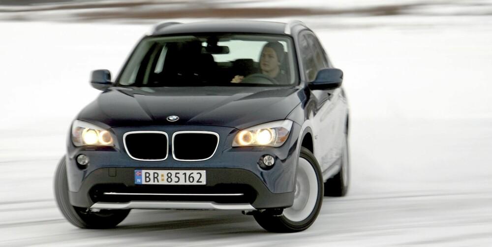 SPORTSLIG: BMW har alltid vært kjent for å ha sportslige kjøreegenskaper, og X1 er intet unntak.