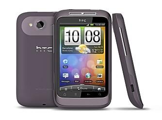 BUDSJETT: HTC Wildfire S er et budsjettalternativ til alle som ikke ønsker å bruke mye penger på en Android-mobil.