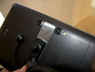 3D-KAMERA: Tableten LG Optimus Pad har to kameraer, men har ikke 3D-skjerm.