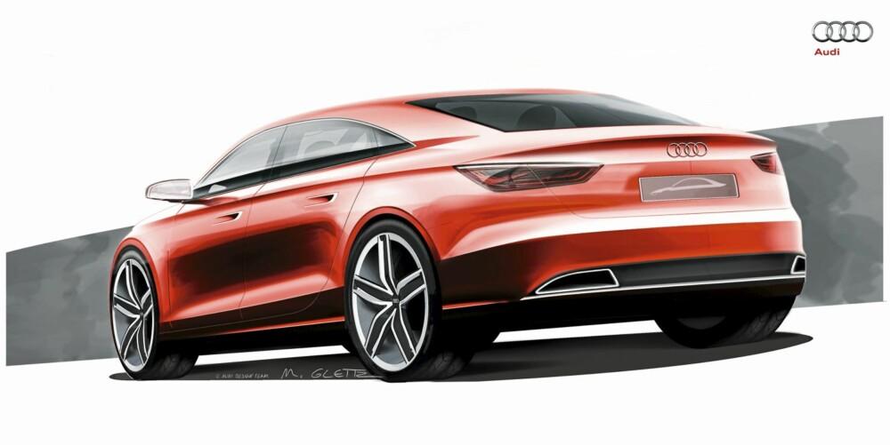 KJENNETEGN: LED-lyktene og grillen er blitt noen av de mest gjenkjennelige elementene ved en Audi.