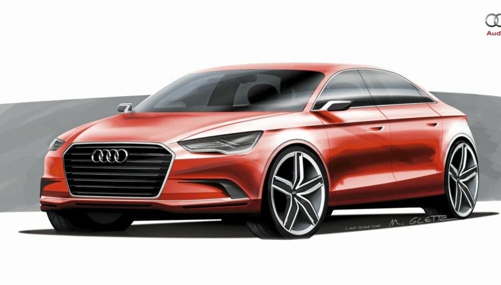 SEDAN: Per dags dato finnes ikke A3 som sedan. Det vil endre seg i 2013.