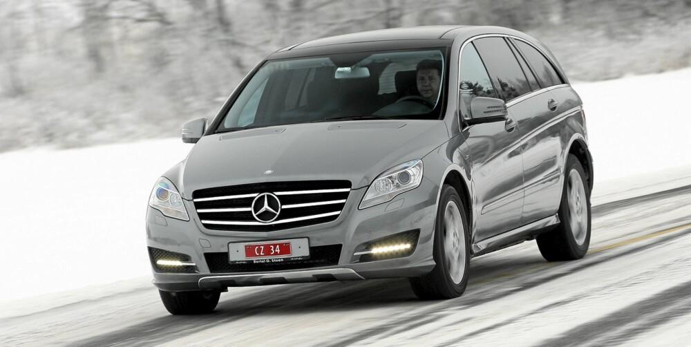 AMERIKANSK: Alle de tre største Mercedesene bygges i USA.