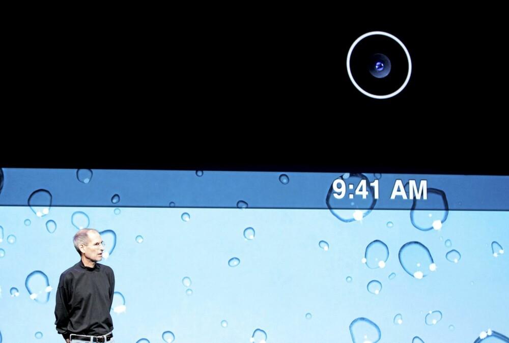 Kamera var den største nyheten med iPad2