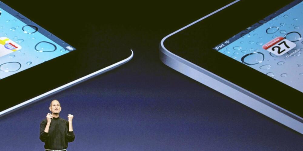 Apple Ipad2 blir mer firkantet slik som iPhone4.