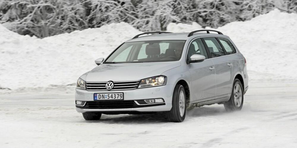 LITEN MOTOR: VW Passat 1,6 TDI, 105 hk: 0,58 l/mil. FOTO; Egil Nordlien, HM Foto