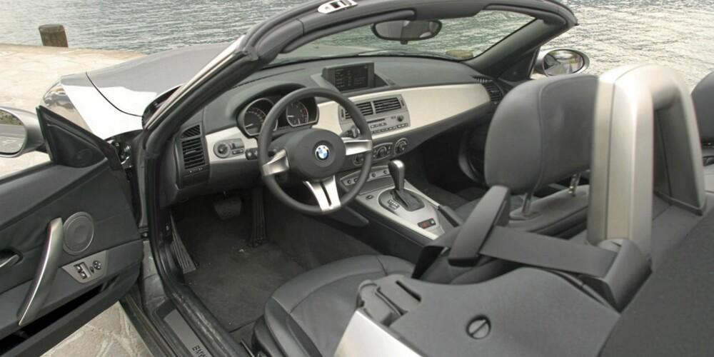ÅPENT HUS: BMW Z4 skal nytes med himmelen som tak.