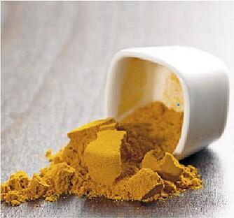 Gurkemeie har mange positive helseeffekter.