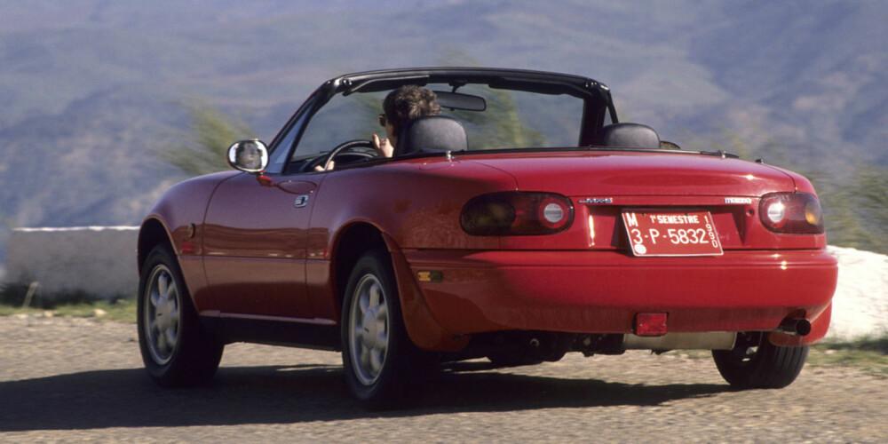 SATTE STANDARD: I 1990 satte Mazda MX-5 standard for en hel generasjon nye roadstermodeller.