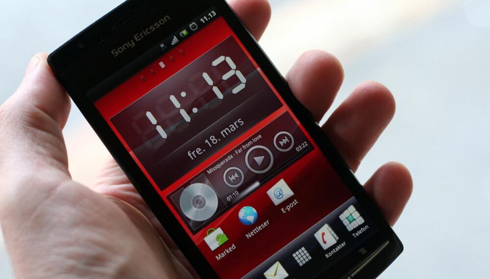 TOPPMODELL: Xperia Arc er Sony Ericsson nye flaggskip.