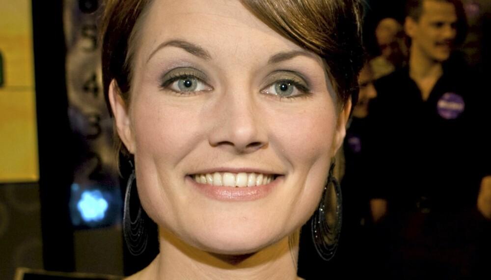 TREDJE MELON: Pernille Sørensen ble svært overrasket da hun til tross for stotring og stamming ble tilbudt jobb som tredje melon i «Melonas»