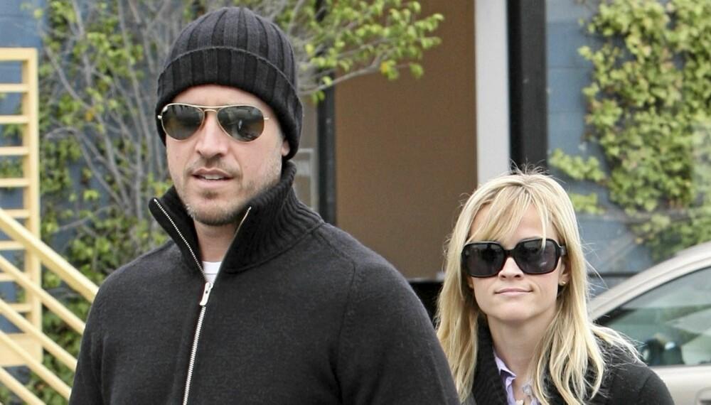 SNARTENKTE: Jim Toth og Reese Witherspoon hadde bare kjent hverandre et år før de giftet seg i helgen.