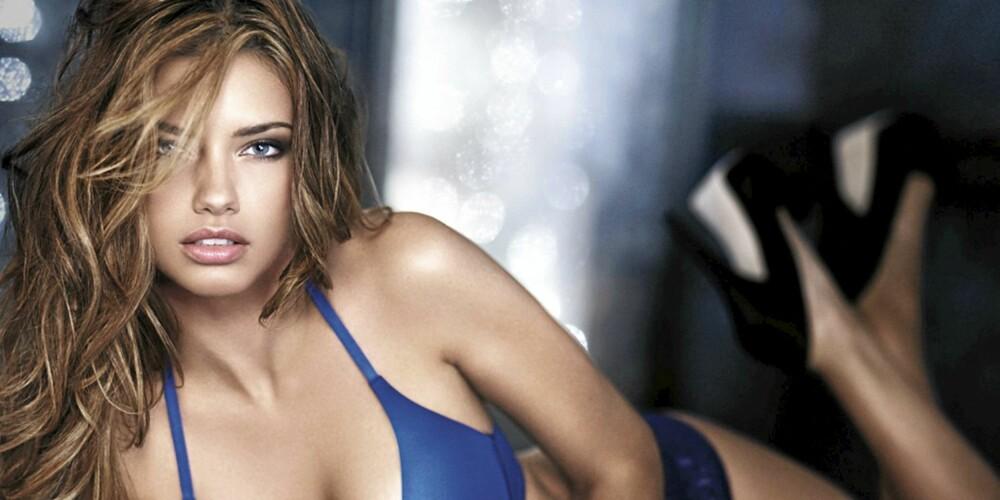 MEST SEXY: Brasilianske Adriana Lima er øverst på listen.