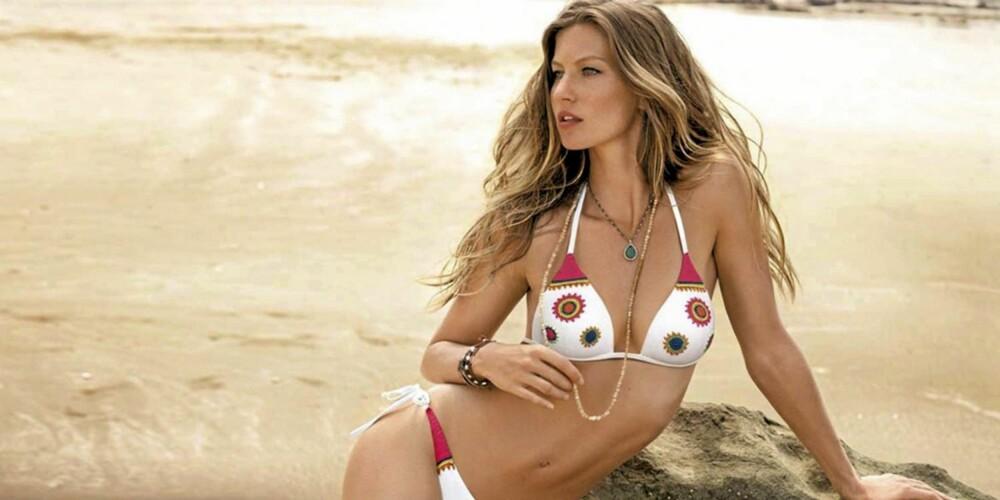 TJENER MEST: Gisele Bundchen regnes fortsatt som en av verdens hotteste modeller.