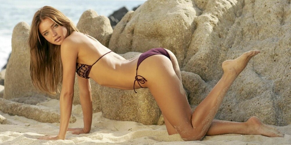 TREDJEPLASS: Miranda Kerr.