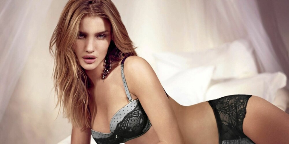 NUMMER 7: Rosie Huntington-Whiteley.