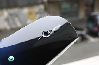 HD-VIDEO: Xperia Neo tar opp video i HD-oppløsningen 720p.
