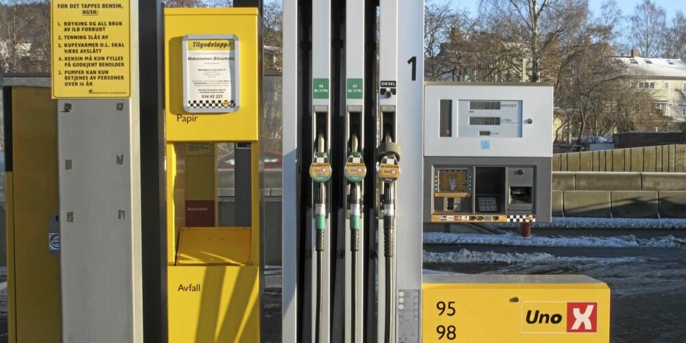 Betjeningsfrie bensinstasjoner har gjort den lokale konkurransen enda hardere.