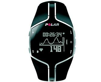 ENKEL OG STILIG: Vi liker både design og funksjonalitet på den nye pulsklokken fra Polar.