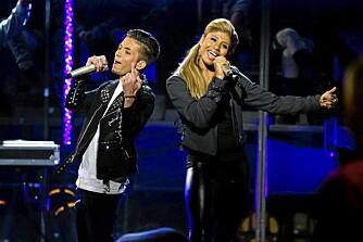 SAMSTEMTE: Omer Bhatti kapret Genevieve, i hvert fall til å synge på hans første singel.