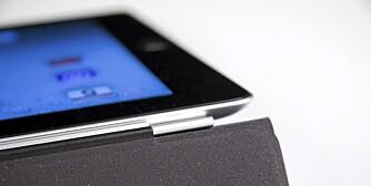 MAGNET: Hengslene på Apples Smart Cover består av magneter. Smart og praktisk.