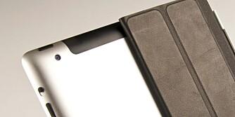 KAMERA: Kameraet bak på iPad 2 byr ikke på de store opplevelsene.