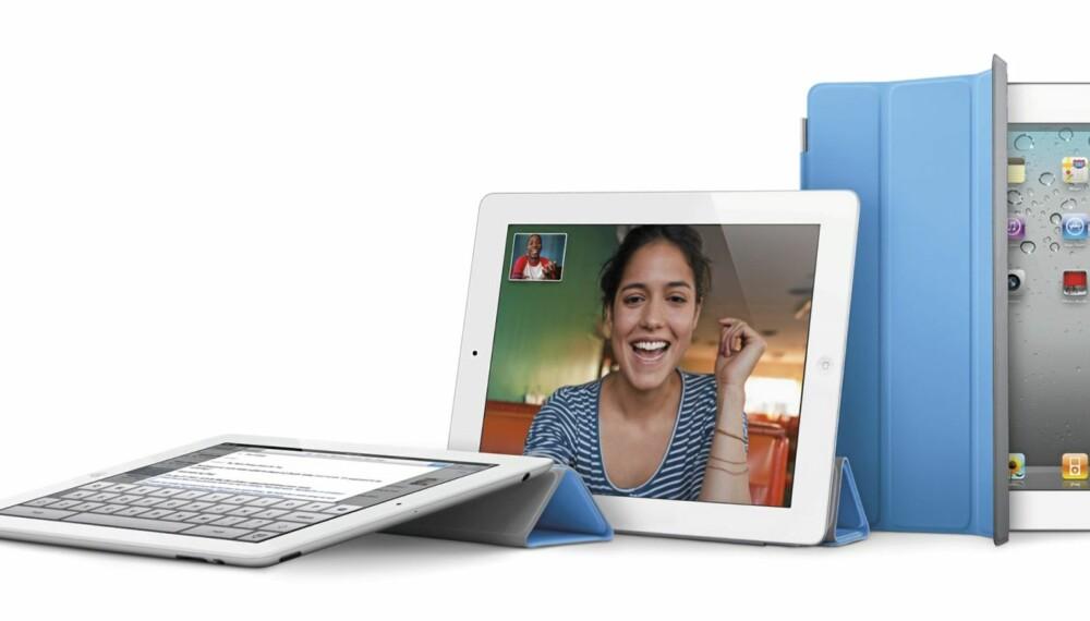 BEDRE BATTERI: Nettstedet Engadgets har målt batterilevetiden på iPad 2 til over 10 timer. Det er noe bedre enn på den første iPad-en.