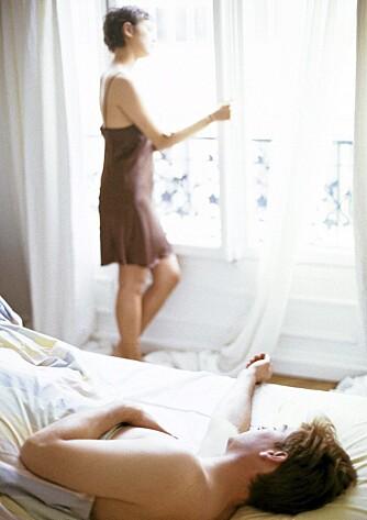 MINDRE SEXLYST: Mange kvinner har mindre sexlyst når magen sliter.