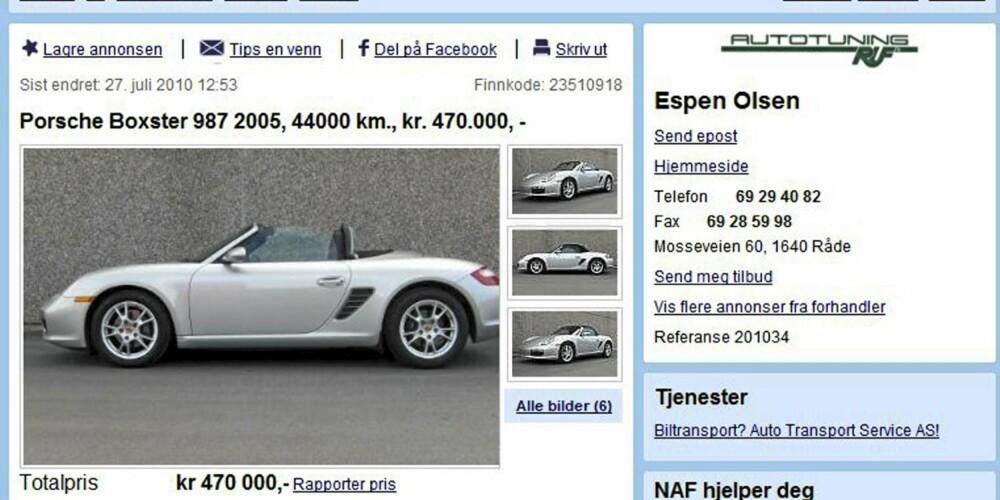 TYSK: Porsche Boxster