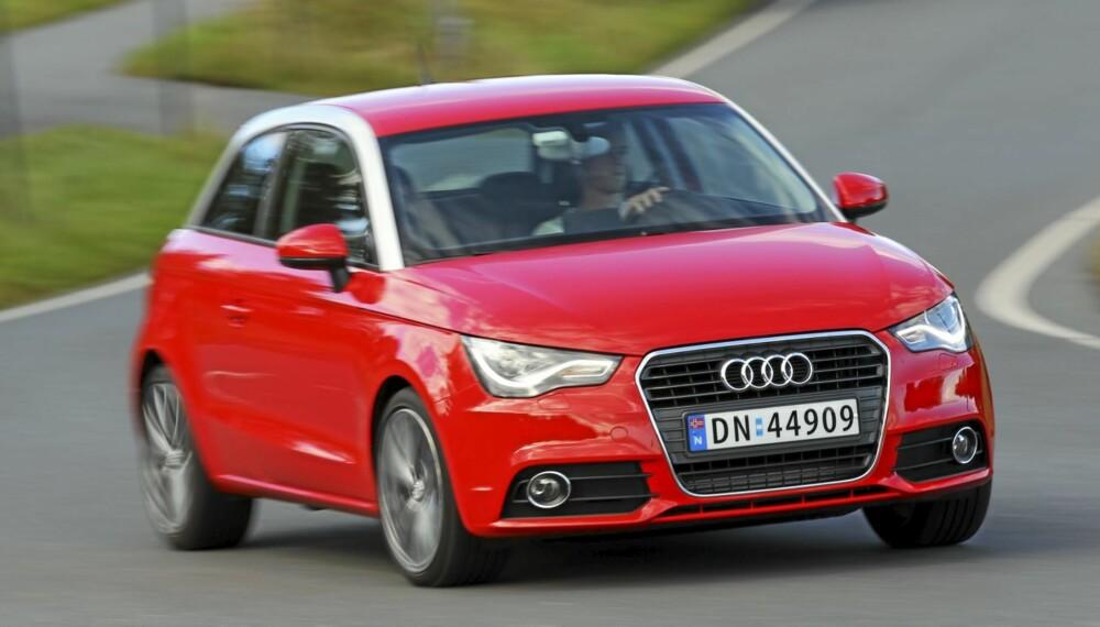 SPORTSLIG: Vi lot oss imponere av Audi A1. Den ser tøff ut og har gode motorer og kjøreegenskaper.