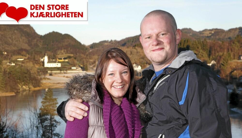 IDYLL: Cecilie trives godt med å bo på det idylliske småstedet Tysnes utenfor Bergen, hvor Morten vokste opp.
