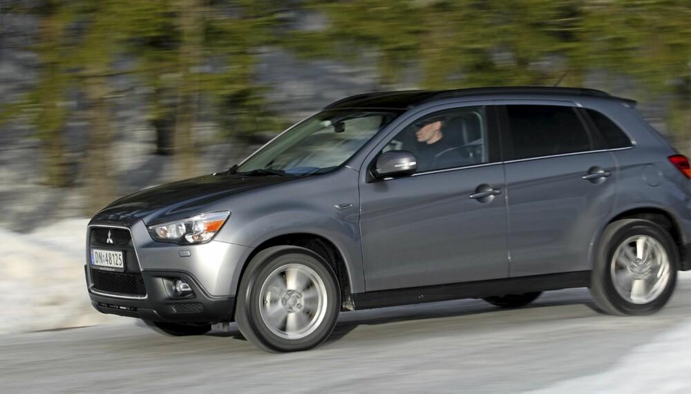FAVORITT: En nær ideell miks av egenskaper gjør Mitsubishi ASX til en vinner.
