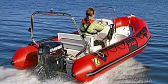 RIB: En liten RIB går godt i sjøen, men det er viktig å velge en med riktig innredningsløsning.