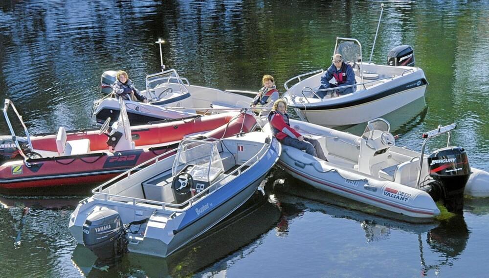 STØRRE: Den typiske landstedsbåten har vokst, både når det gjelder lengde, motorstyrke og innredningsløsninger.