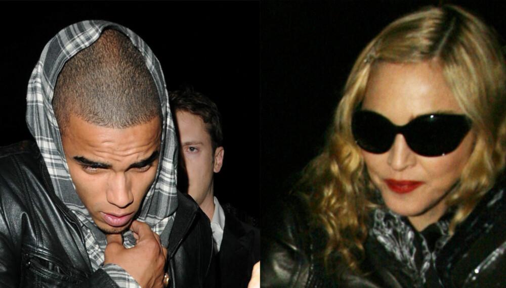Brahim og Madonna har slått opp.