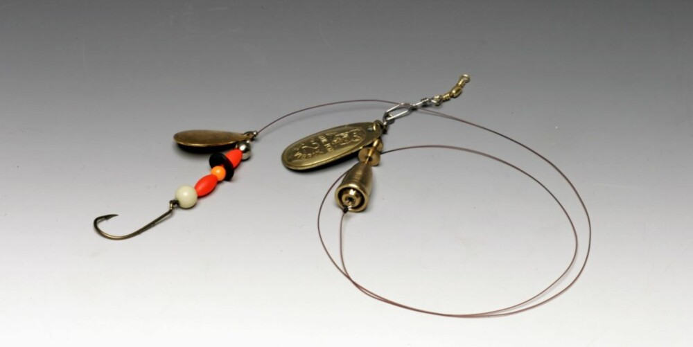 SPINNERSLEP: Denne varianten er inspirert av flyndrefiskere.