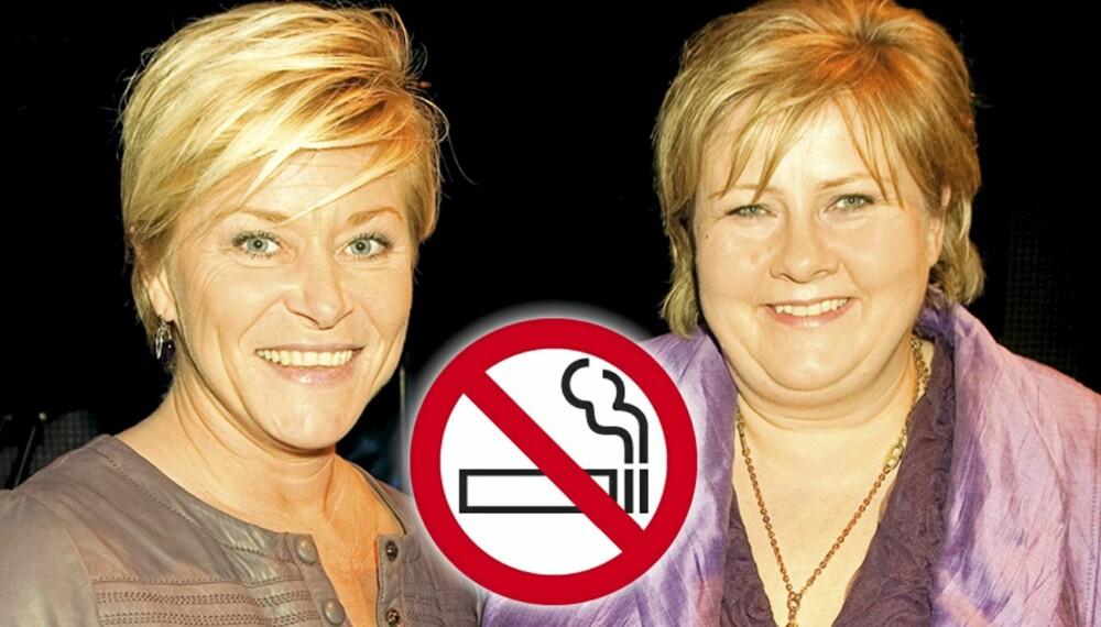 Slutt på være jentene i røyken - Her og Nå