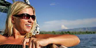 NYT SOLA: Med den rette solkremen kan du få en gylden brunfarge samtidig som du er trygg.