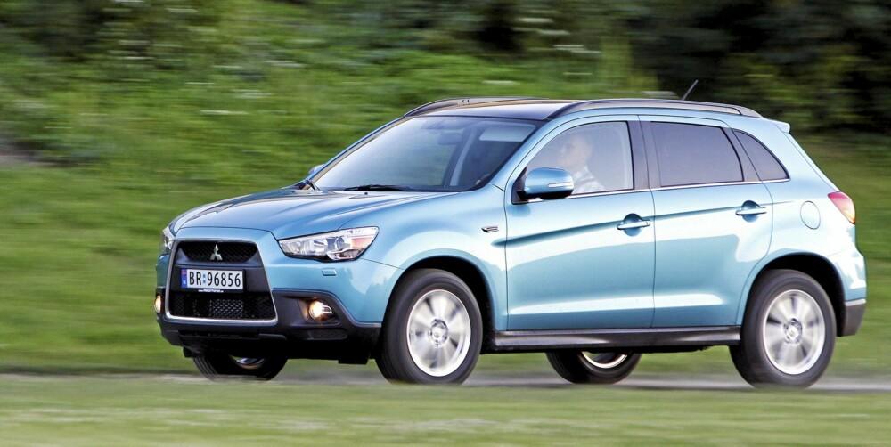 STORSELGER: Mitsubishi ASX er den SUV-en det selges klart flest av i Norge. Terningkast fem.