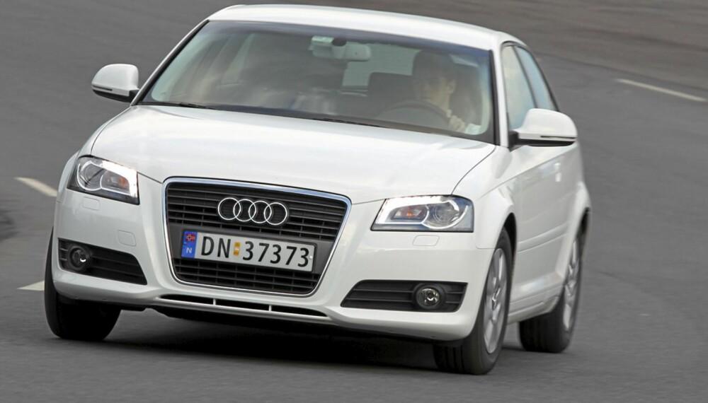 UNNTAKET: Audi A3 kan faktisk bli dyrere som brukt enn som ny - dersom du er uheldig og må gjennomføre flere dyre reparasjoner.