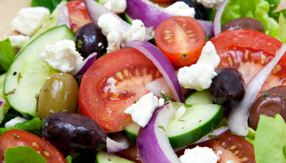 SOMMERMAT: Med gode råvarer kan du lage deilige salater i sommer.