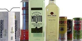 FERDIGBLANDEDE DRINKER: Mange varianter