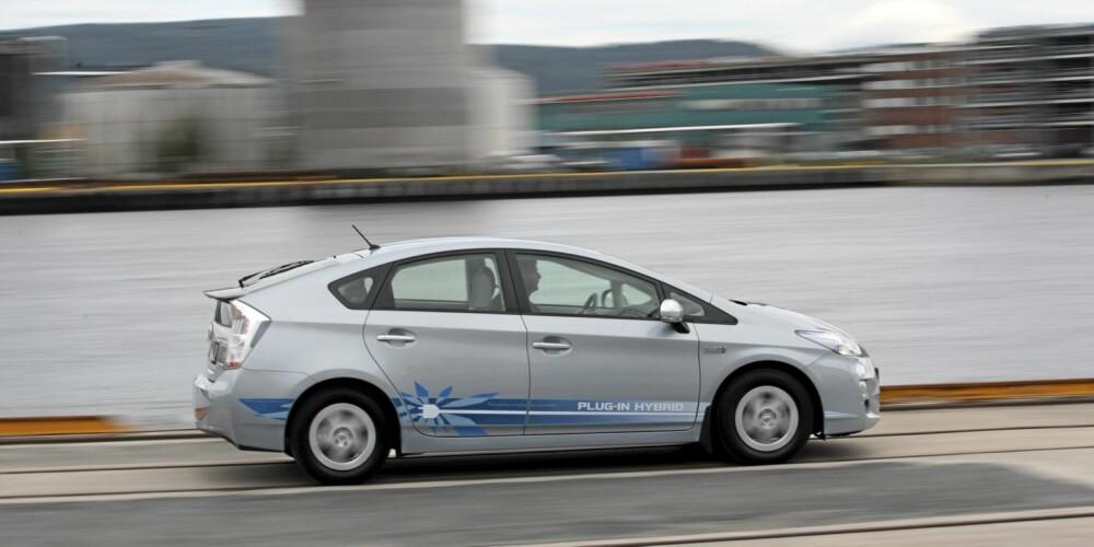 LAVT UTSLIPP: Stadig flere biler slipper ut mindre enn 100 gram CO2 pr. kilometer. FOTO: Egil Nordlien HM Foto
